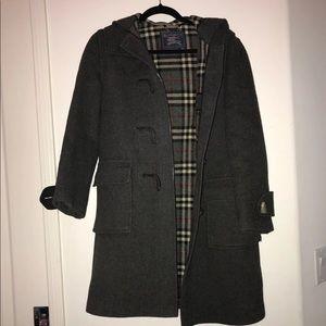 Burberry toggle coat